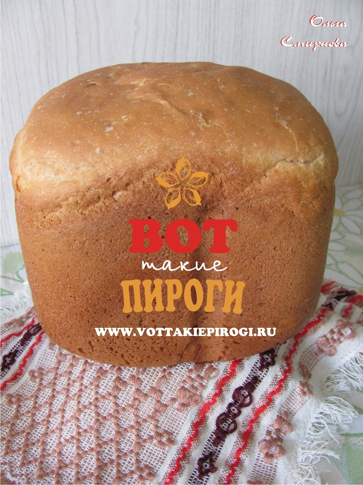 Хлеб Дарницкий в хлебопечке
