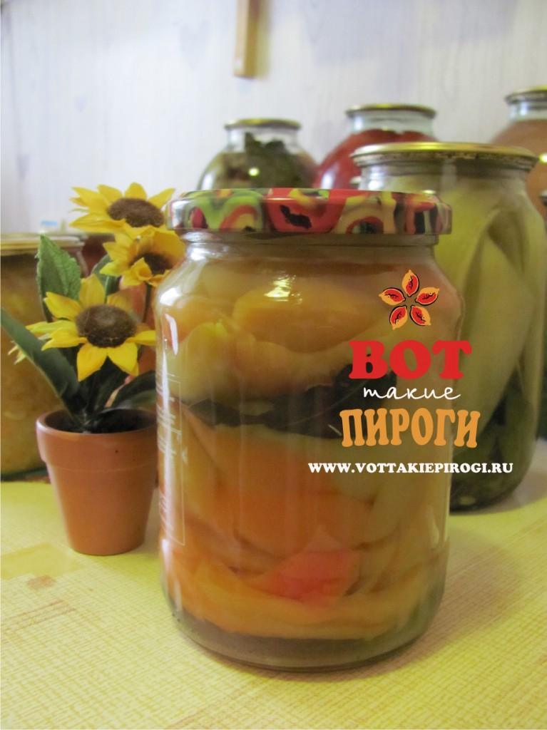 Перец маринованный с медом