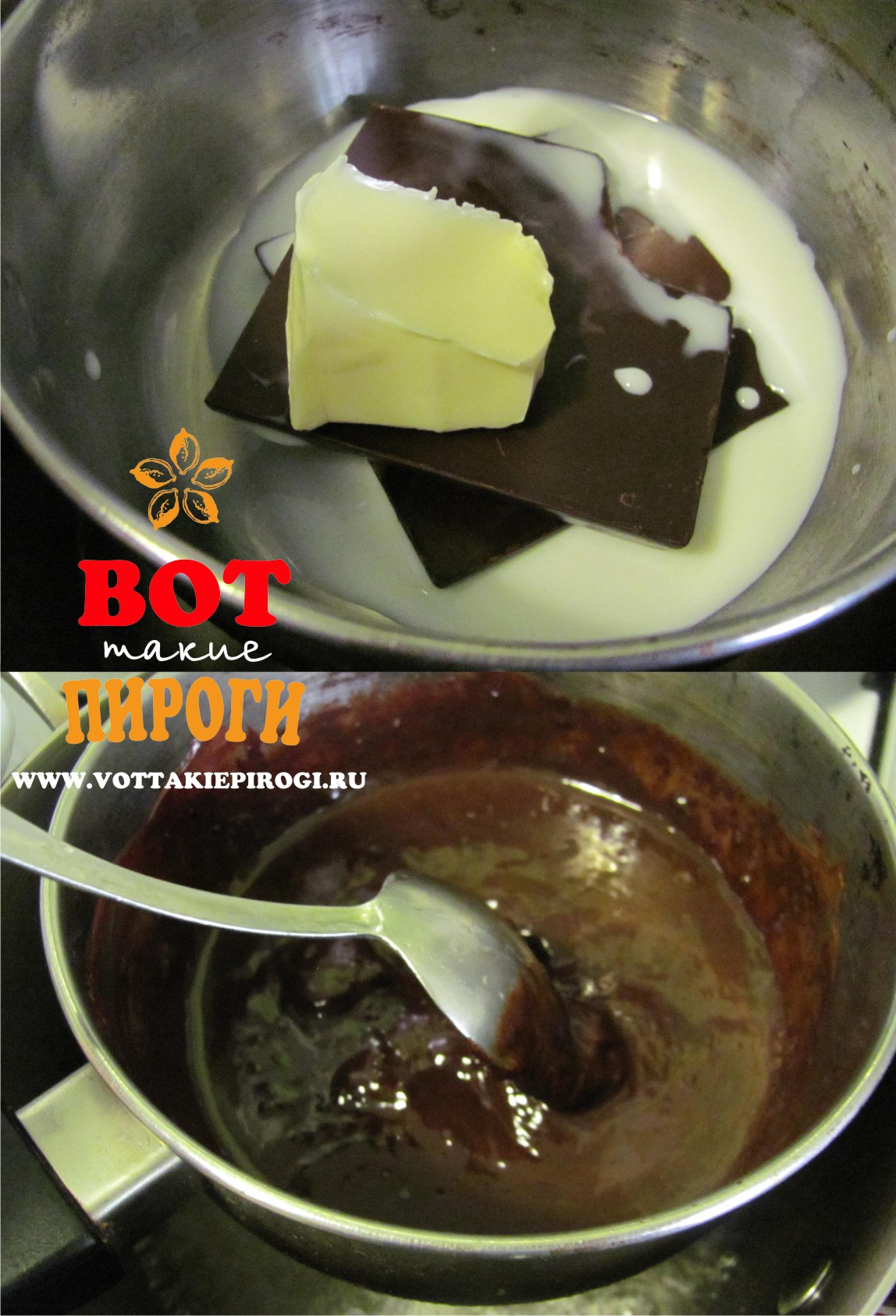 Глазурь шоколадная, рецепты с фото на m: 90