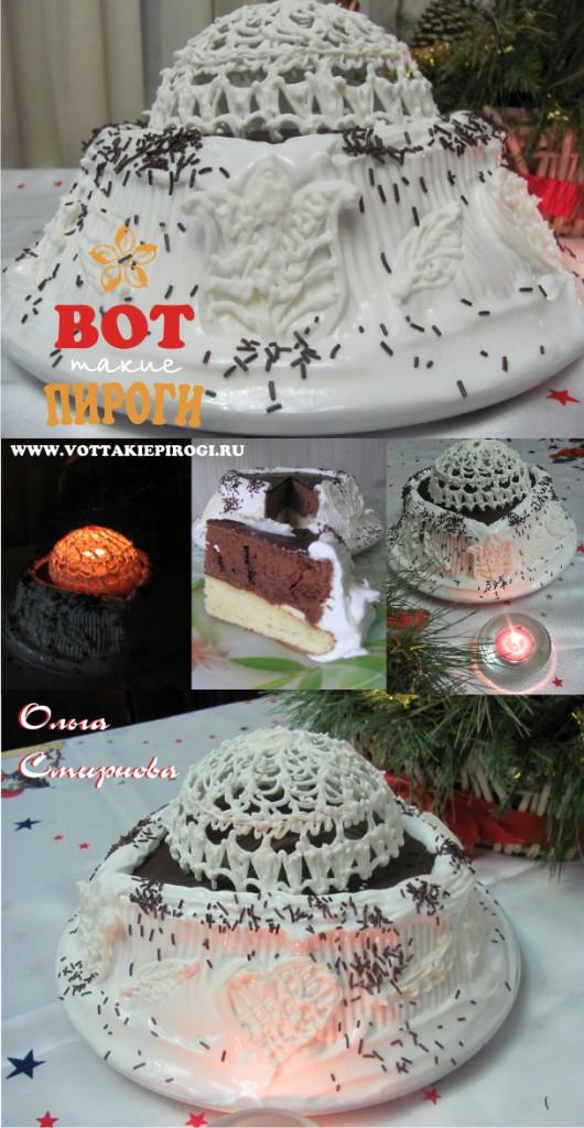"""""""Праздничный"""" торт своими руками"""