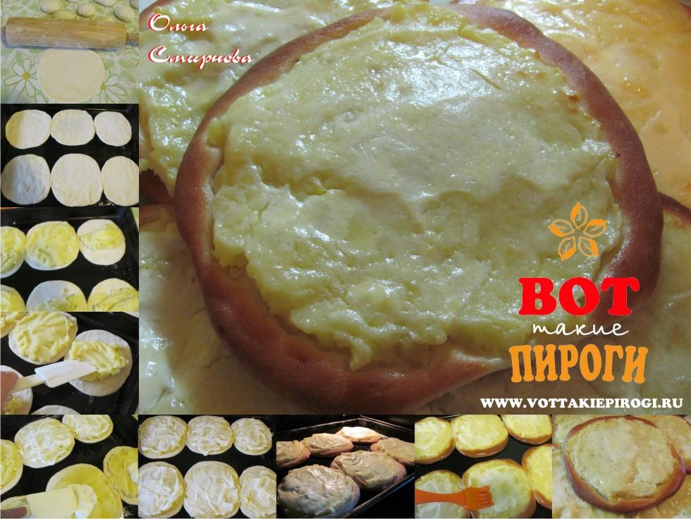 Шаньги с картошкой рецепт без дрожжей с фото пошагово