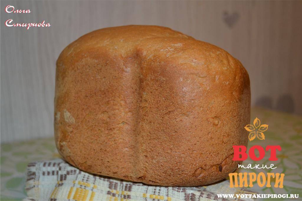 хлеб из цельнозерновой пшеничной муки