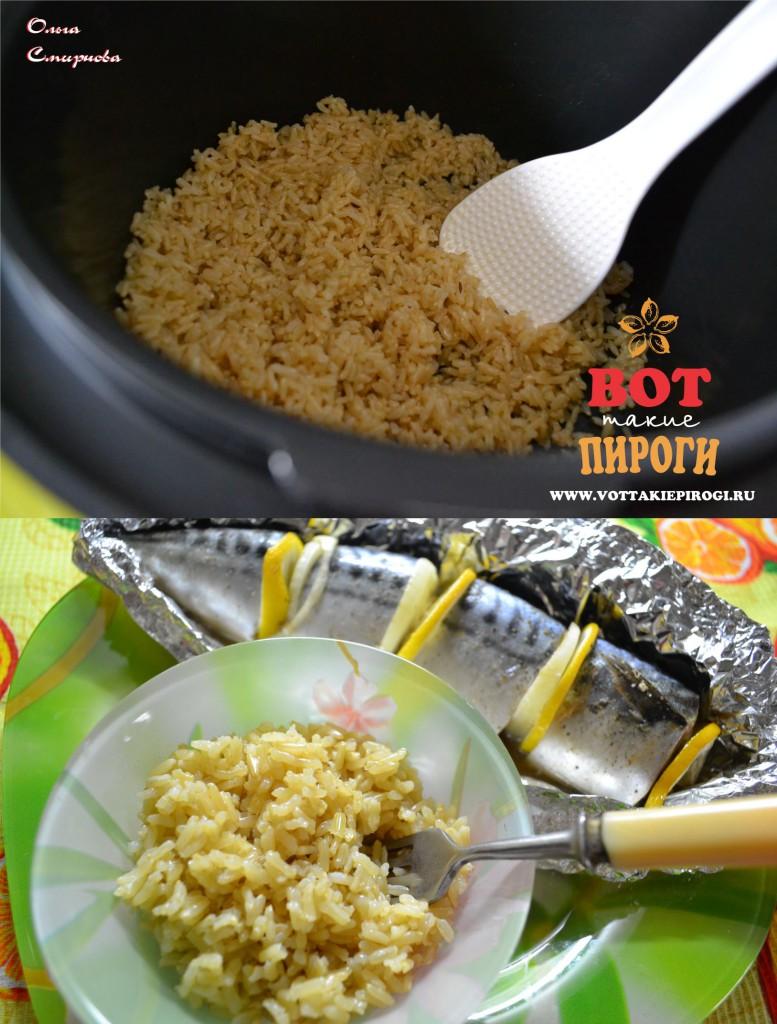 коричневый рис в мультиварке