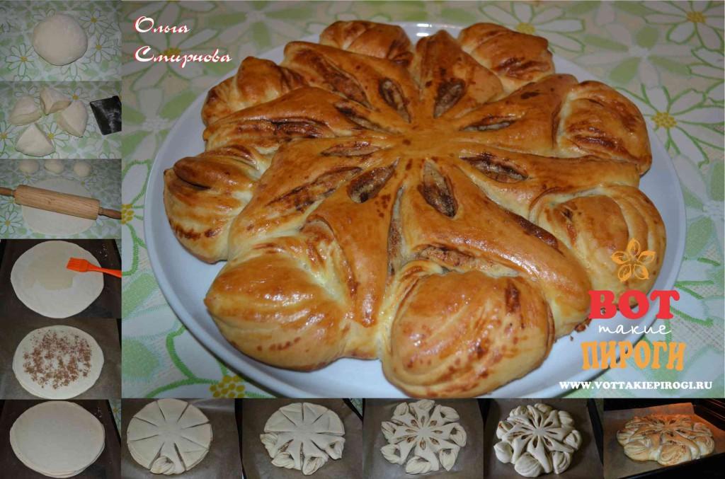 Пирог с корицей по идее Валентины Цуркан