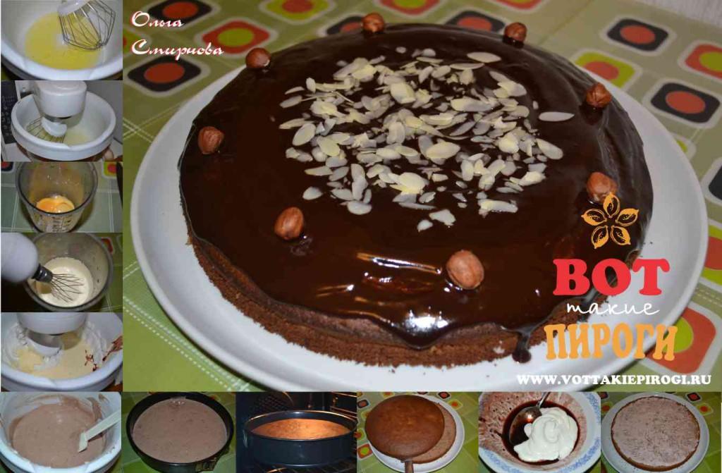 Пирог из варенья из черной смородины