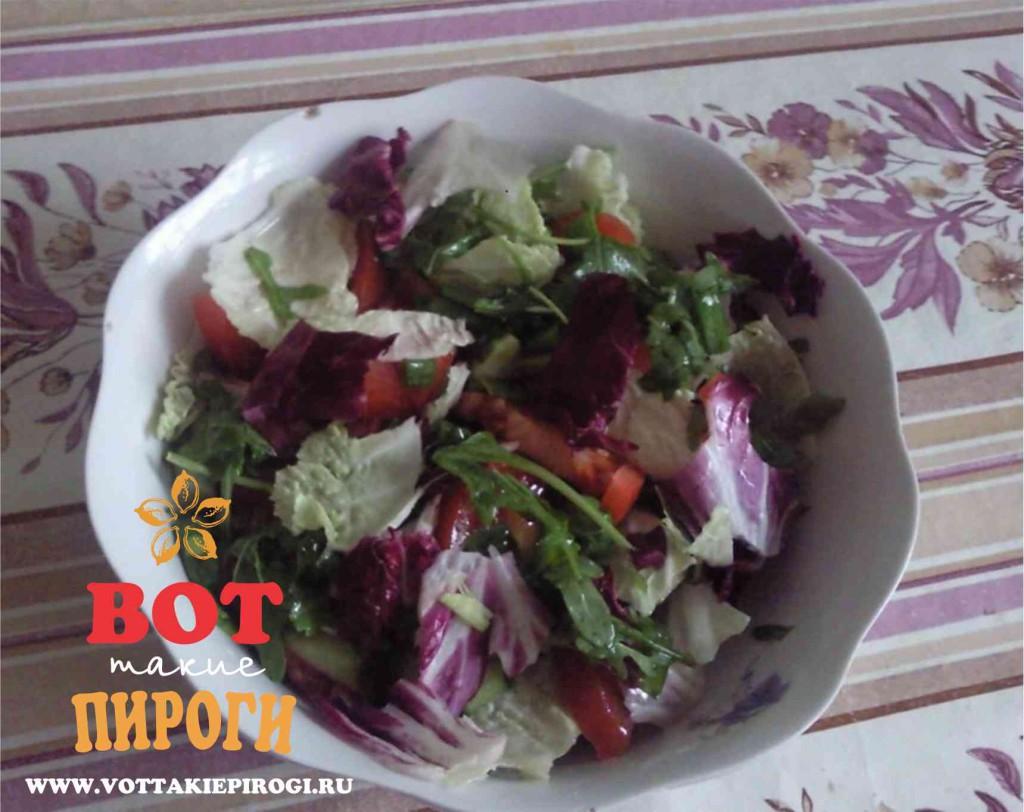 салат из радичио  рецепт