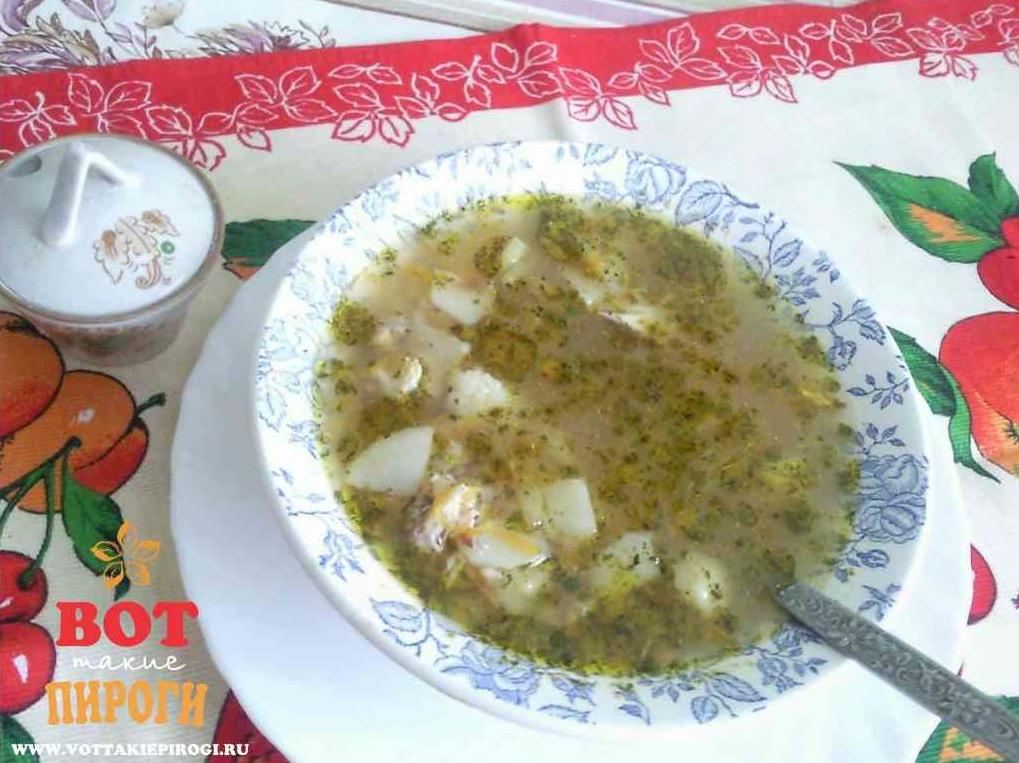 вкусный гречневый суп