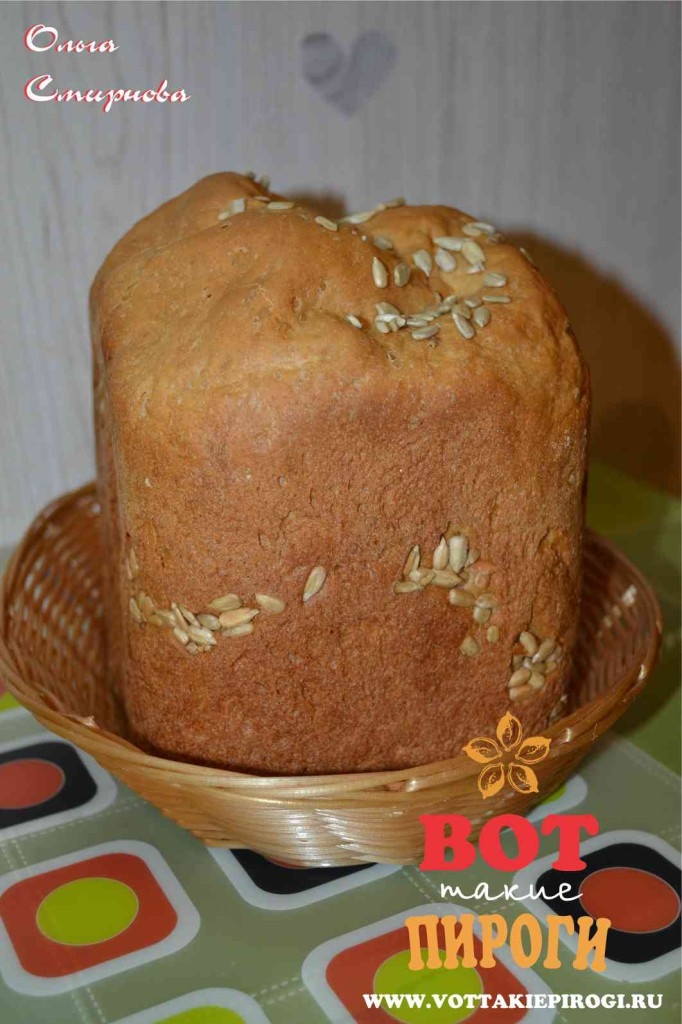 рецепт приготовления хлеба +в хлебопечке