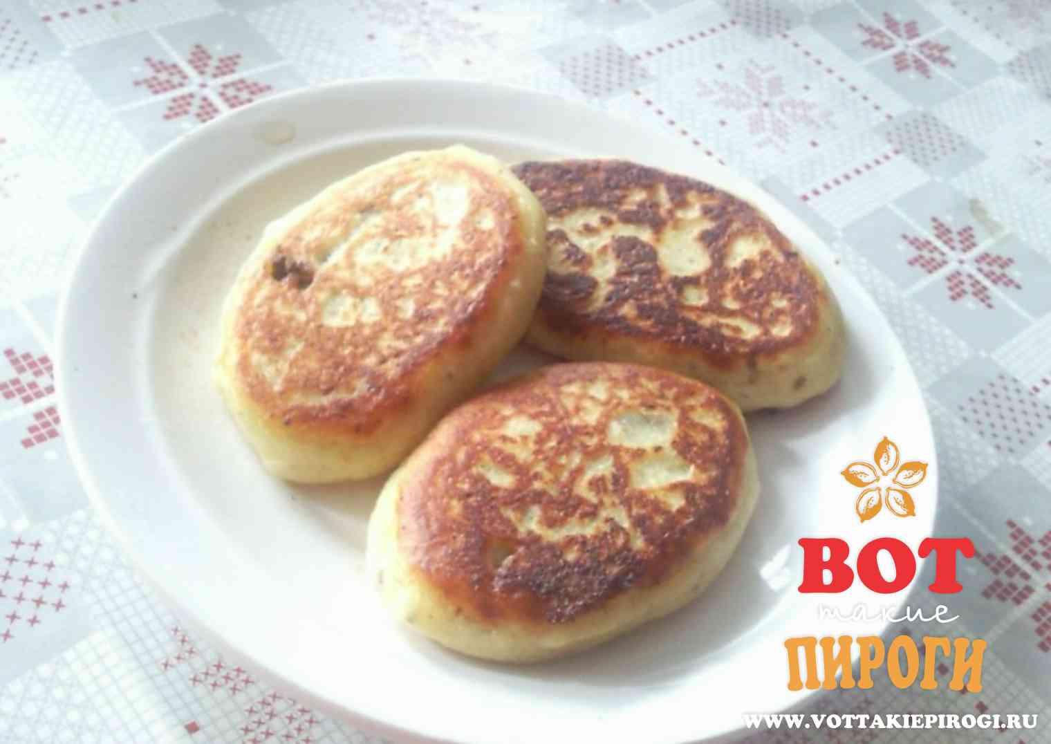 Жареные пирожки с фаршем пошаговые рецепты