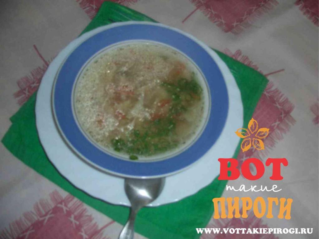 суп с геркулесом