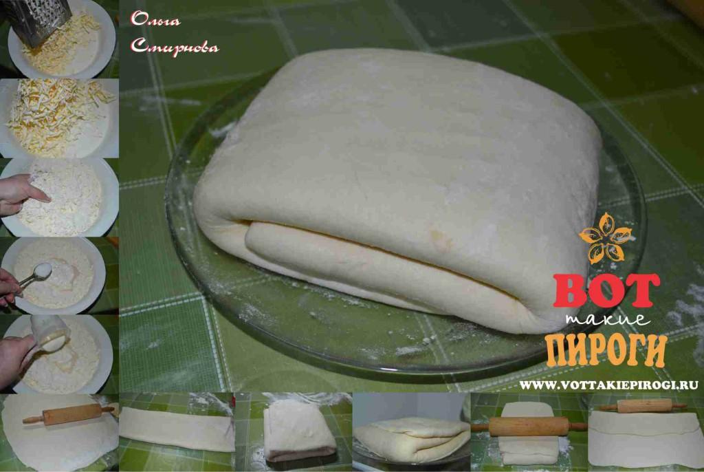 слоеное тесто для кубете