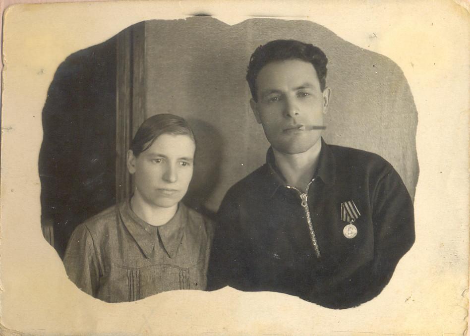 бабушка с дедушкой после войны