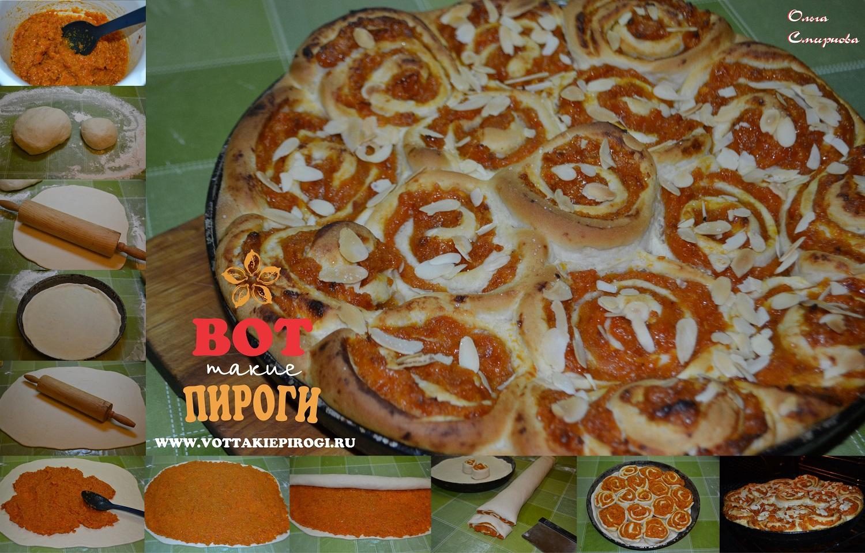 Пироги сладкие дрожжевые фото рецепт пошаговый