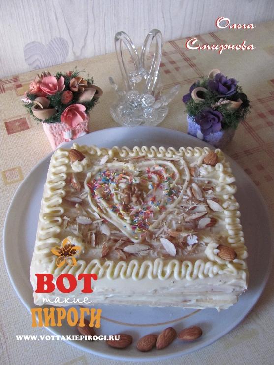 Мини -тортик из быстрого бисквита