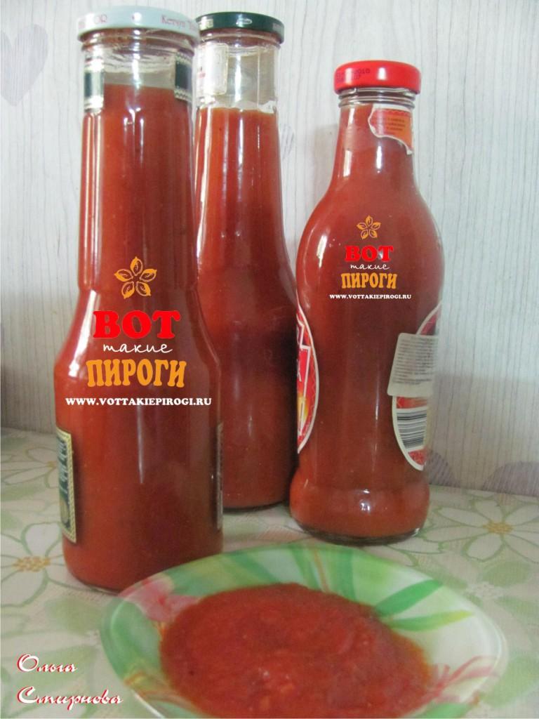 Томатный кетчуп в домашних условиях