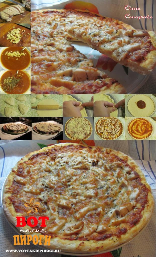 рецепт пиццы на тонком тесте