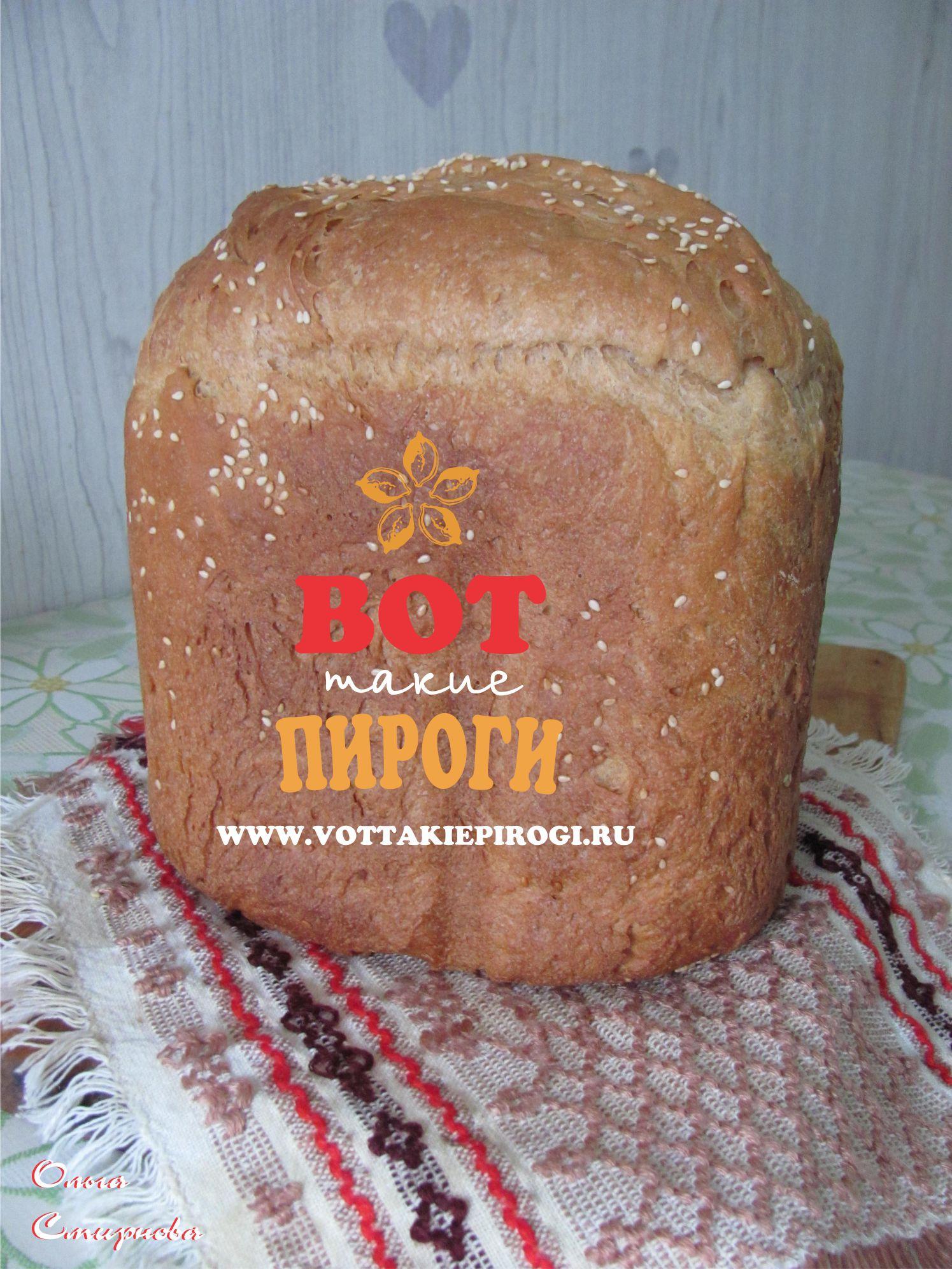 хлеб из муки 2 сорта