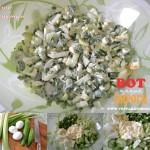 салат из стеблей сельдерея