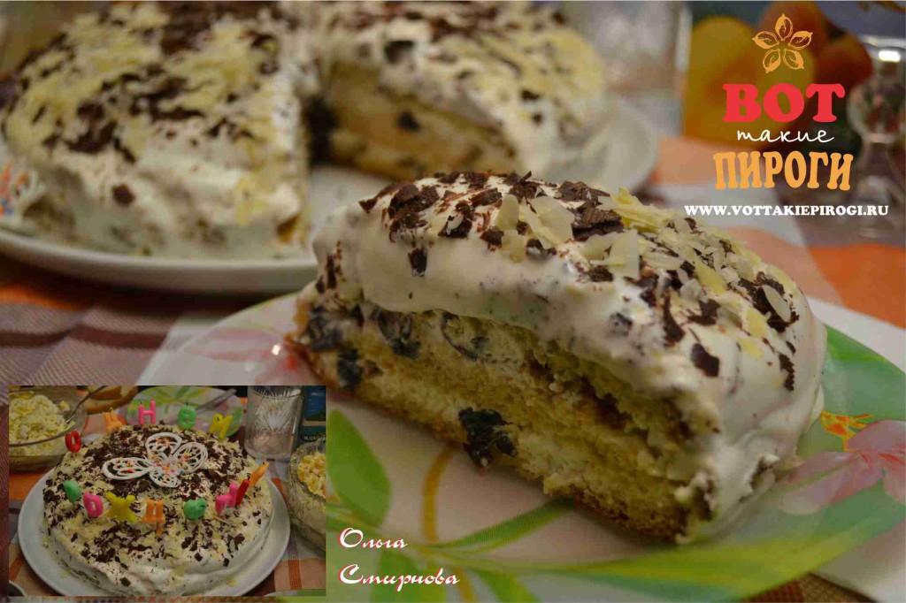 Простой рецепт торта со сгущенкой