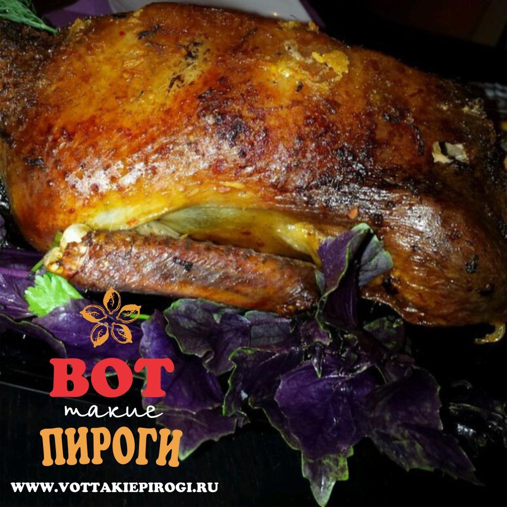 Вкусная утка, запеченная в духовке