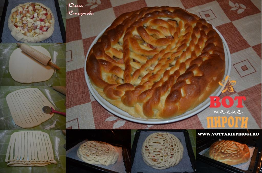 пирог вязаный