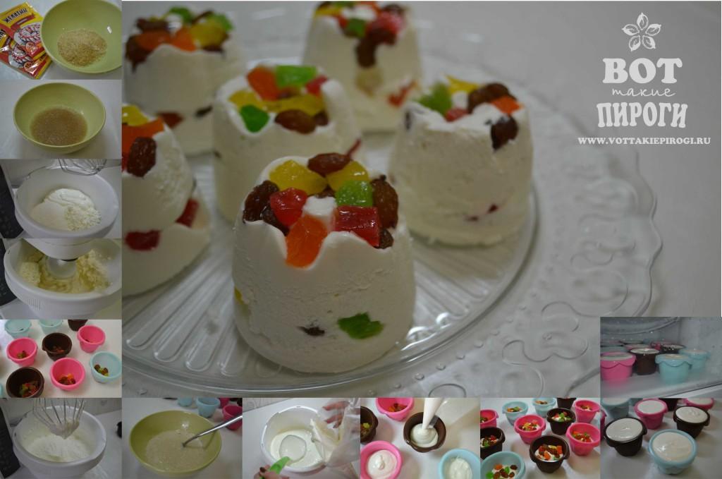 творожный десерт на Пасху